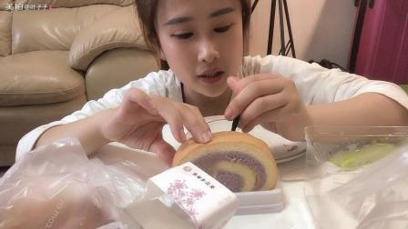 (测评)85 C的面包测评: 枫糖吐司芋泥蛋糕卷咖啡奶酥肉松小贝