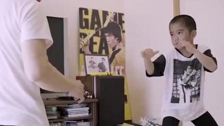 """当代""""李小龙""""在日本出现!满身肌肉惹人羡慕,网友:这是8岁的孩子?"""
