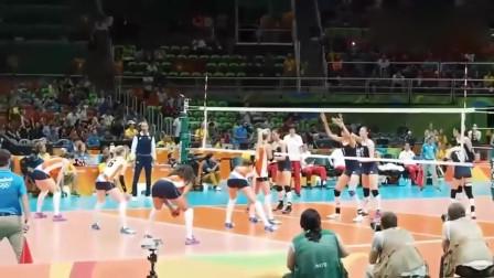 里约奥运女排半决赛:中国对阵荷兰,最后时刻激动人心!