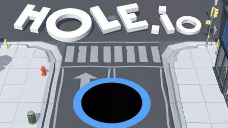 手游黑洞大作战 化身无敌巨口见什么吃什么Holeio游戏攻略