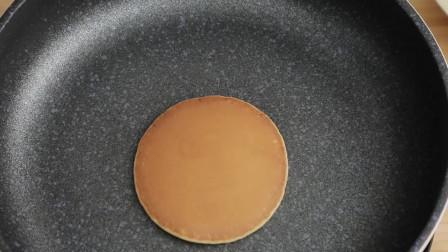 在家自己做铜锣烧,柔软香甜,没有添加剂,做法简单