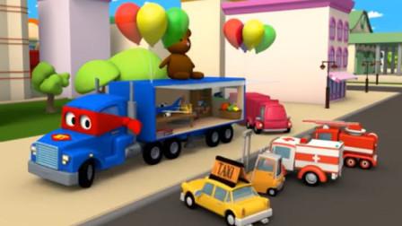 汽车总动员:卡尔变身超级厨窗卡车,帮助苏茜参加玩具展