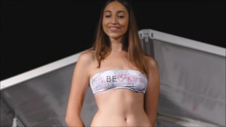 世界小姐大赛泳装秀洛杉矶站,模特这样走秀,观众热情高涨!