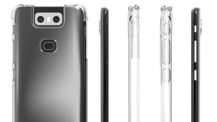 华硕ZenFone 6带壳渲染图曝光后置摄像头设计很夸张