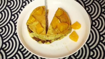 早餐给宝宝做一盘酸奶饼,营养丰富,做法简单又好吃