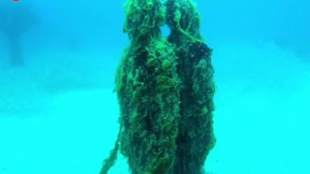 有这样一家博物馆,只能通过潜水才能参观到它震撼人心的美