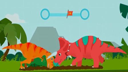 恐龙岛 霸王龙世界大冒险 侏罗纪公园历险记 勇闯恐龙岛 霸王龙的死敌三角龙