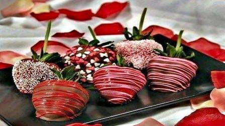 草莓夹心巧克力的新做法,做好的那一刻,才发现这个巧克力不简单