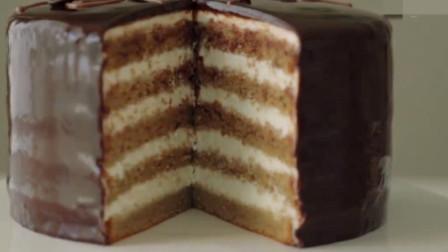 「烘焙教程」教你做最简单的提拉米苏蛋糕食谱,甜而不腻