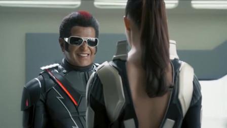 《宝莱坞机器人》女机器人把七弟重组升级了,七弟醒来就调戏了妮拉!