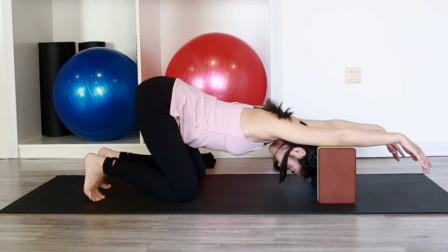 1块瑜伽砖,每天5分钟,最有效的开肩动作让你爱不释手