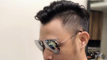 男生发型这样做,不要打理也好看