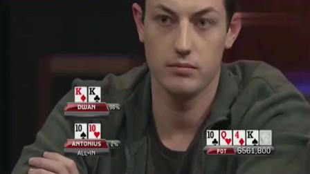 德州扑克:Dwan打出的破纪录最大底池,对手血亏的连妈都认不得!