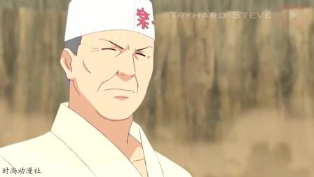 火影忍者:佩恩摧毁木叶村,顺带着摧毁了拉面馆,一乐大叔暴走