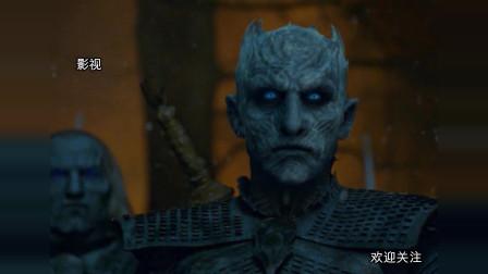 权力的游戏:第八季凛冬城大战到来,龙母、琼恩和夜王实力对比