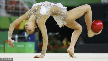 阿塞拜疆艺术体操女皇加拉耶娃奥运会精彩瞬间,个人全能决赛第4