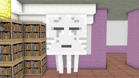 我的世界动画-怪物学院-Herobrine宝宝-AppleSauceCraft