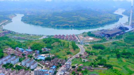 潮叔玩航拍2019《航拍广西》合山市中国观赏石之乡