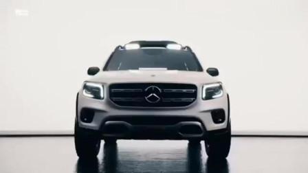 奔驰GLB 7座SUV概念车最新鉴赏