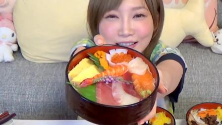 吃货试吃8大碗生鲜配饭,网友:你确定明天你起的来?