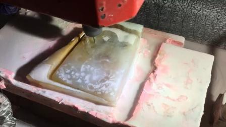 玉邦 数控电脑玉石雕刻机 机雕玛瑙玉牌玉佩案例
