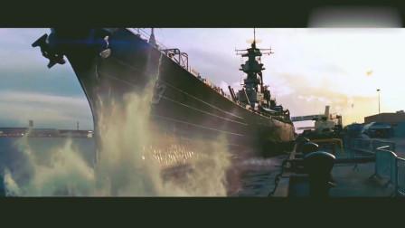 好莱坞大片《超级战舰》,人类超级战舰和外星战舰展开史诗级对决