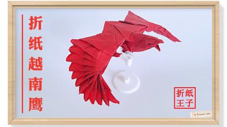 折纸阮红强越南鹰31折纸王子折纸详细视频教程