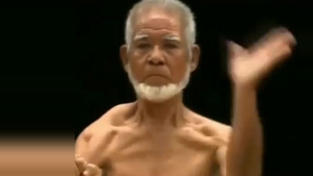 日本空手道大师真功夫,一身肌肉健步如飞,实战招式强悍!