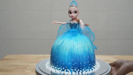 这么美丽的艾莎公主原来是牛人做的翻糖蛋糕?满足你的少女心