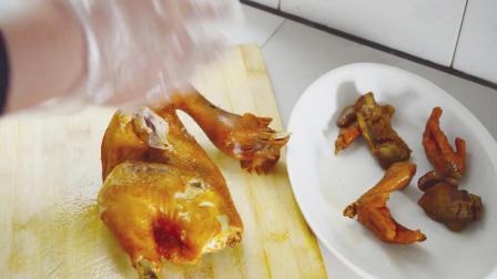 饭店38元的干锅手撕鸡的正宗做法,先卤后撕,这样的做法只教一次