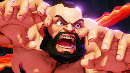 街霸5:日本顶级对战!宇宙最强桑吉尔夫板桥 VS 最强豪鬼东大