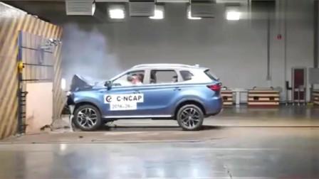人气车荣威RX5碰撞测试,撞上去的那一刻,结果你能想得到吗?