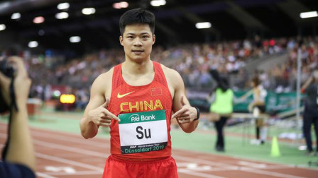 世界接力赛男子4X100米预赛,中国队成功晋级!