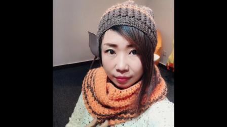 第285集 相思围巾帽子套装(上集)小辛娜娜钩织帽子围巾教程编织毛线毛衣帽子