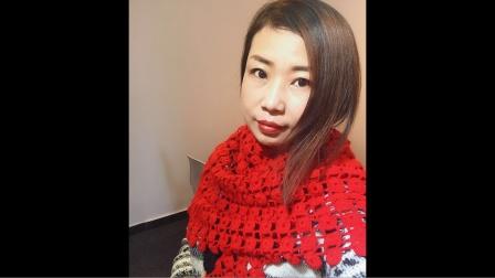 小辛娜娜编织2019第3集钱多多围巾披肩编织教程花样编织集锦
