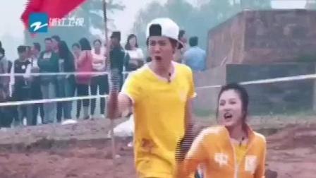 奔跑吧兄弟鹿晗为何开心到破音,可能也是被气的吧