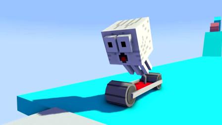 我的世界动画-怪物学院-另类赛车-PlataBush