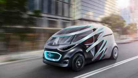 模块式车身可按需轮换的梅奔概念车
