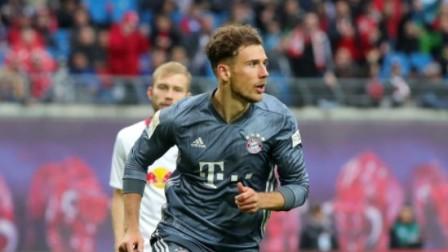 德甲-格雷茨卡进球被吹 拜仁客场0-0莱比锡无缘提前夺冠