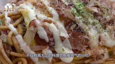 日本街头铁板炒面,最后却放了沙拉酱,还能吃吗?