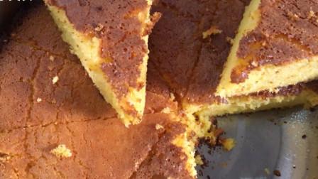 家庭自制蛋糕,做法超简单