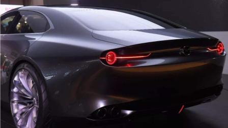 马自达VISION COUPE概念车外观炫酷,车顶实在太惹人喜爱!