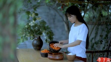 国外网友评李子柒应季的樱桃甜点:我现在好想去中国旅游!