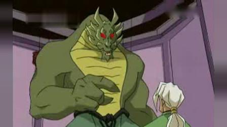 成龙历险记  特鲁过去教训教训这个怪物,我们都会支持你
