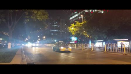 北京汽车10秒延时夜景