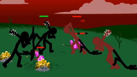 火柴人战争 巨人打架小兵退散