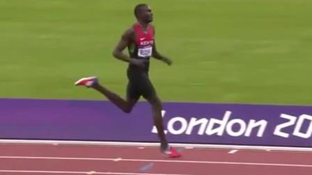 伦敦奥运会田径男子800米决赛,新的世界纪录诞生