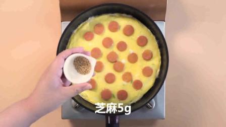 火腿鸡蛋饼的做法