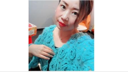 第291集 花仙子外套的单元花钩织方法(中集)钩织马海毛外套手工编织