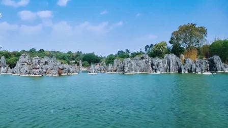 云南石林,位于昆明石林彝族自治县境内,距离云南省会昆明78公里